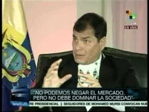 Entrevista a Rafael Correa, Presidente de Ecuador