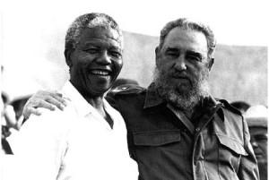Mandela y Fidel