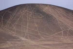 petroglifo destruido
