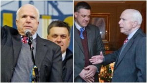 McCain y Fascista ucraniano