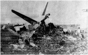 Avion derribado