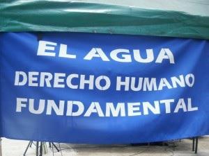 El Agua es un derecho