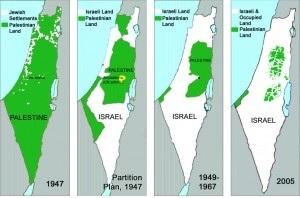 expansion israeli en palestina