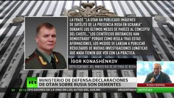 """Las """"pruebas"""" de la OTAN sobre la entrada de tropas rusas en Ucrania, nos la cree ni su madre"""
