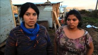 """En plenas fiestas patrias las FFEE (Fuerzas Especiales) desaloja a familias del campamento """"Michelle Bachelet"""""""