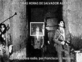 Las fotografías tomadas donde se encontraba el cadáver de Allende no se han peritado en la indagatoria judicial sobre su muerte