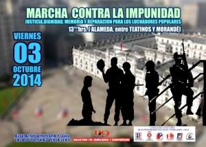 Marcha contra la impunidad 03.10.2014