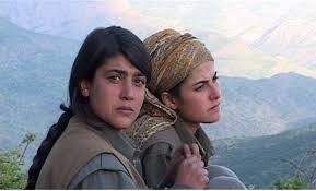 Muchacha kurdas