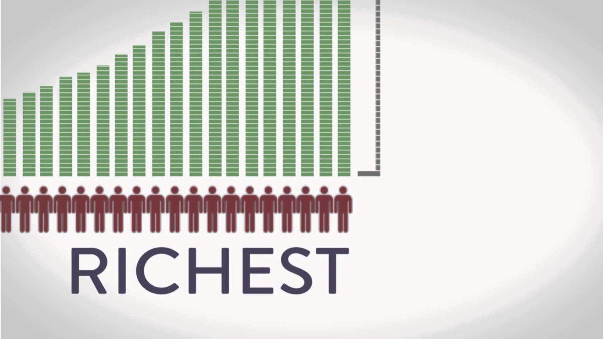 300 más ricos del mundo caben en un avión