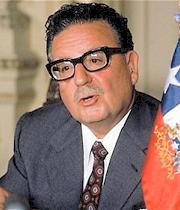 Salvador Allende Gossens Presidente Constitucional de Chile