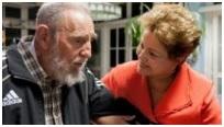 Dilma apuesta fuerte a la relación con Cuba