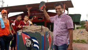 Lopez y destruccion monumento Cuba