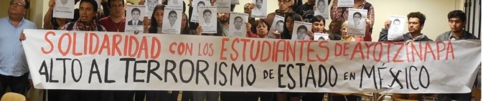 Gotas de Solidaridad con los Estudiantes de México