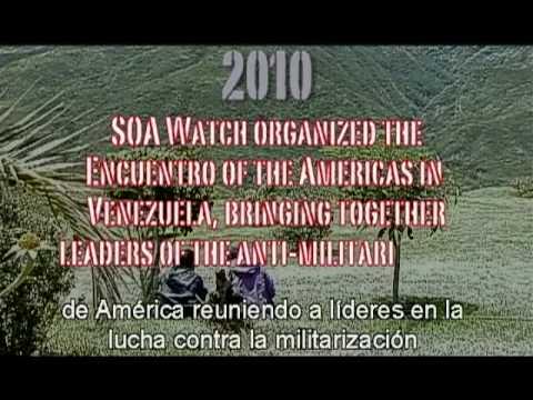 Acciones 2014 para exigir el cierre de la Escuela de las América - súmate..
