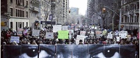 Histórica marcha en EEUU contra el racismo y la brutalidad policial