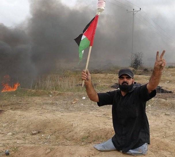El Ejército israelí le quitó primero las piernas, después la vida. ¡Asesinos!