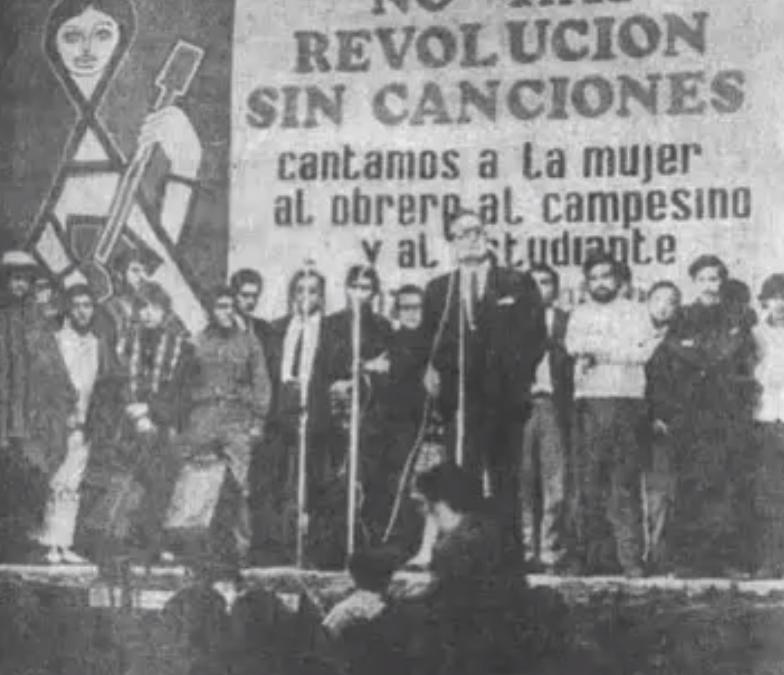"""Cumbia de Alberto Lozán: """"De ti depende, que gane Allende"""""""