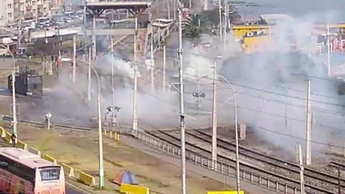 Violenta represión a pescadores artesanales de Caleta Portales