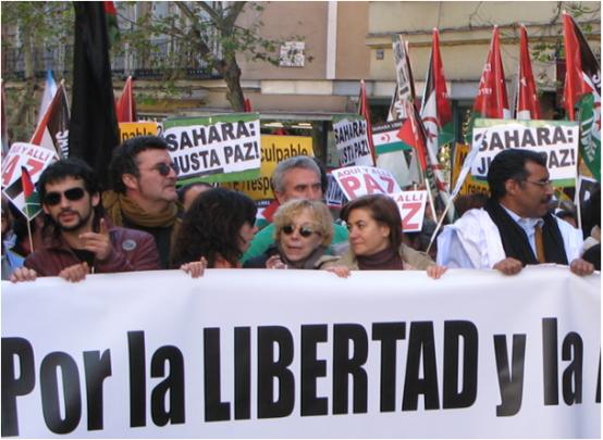"""Últimas palabras de Rosa María Sardá: """"Es un caso de humanidad, de vida o muerte. Libertad para los presos saharauis"""""""