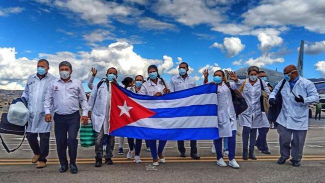 Cuba: El apoyo a Perú en la pandemia