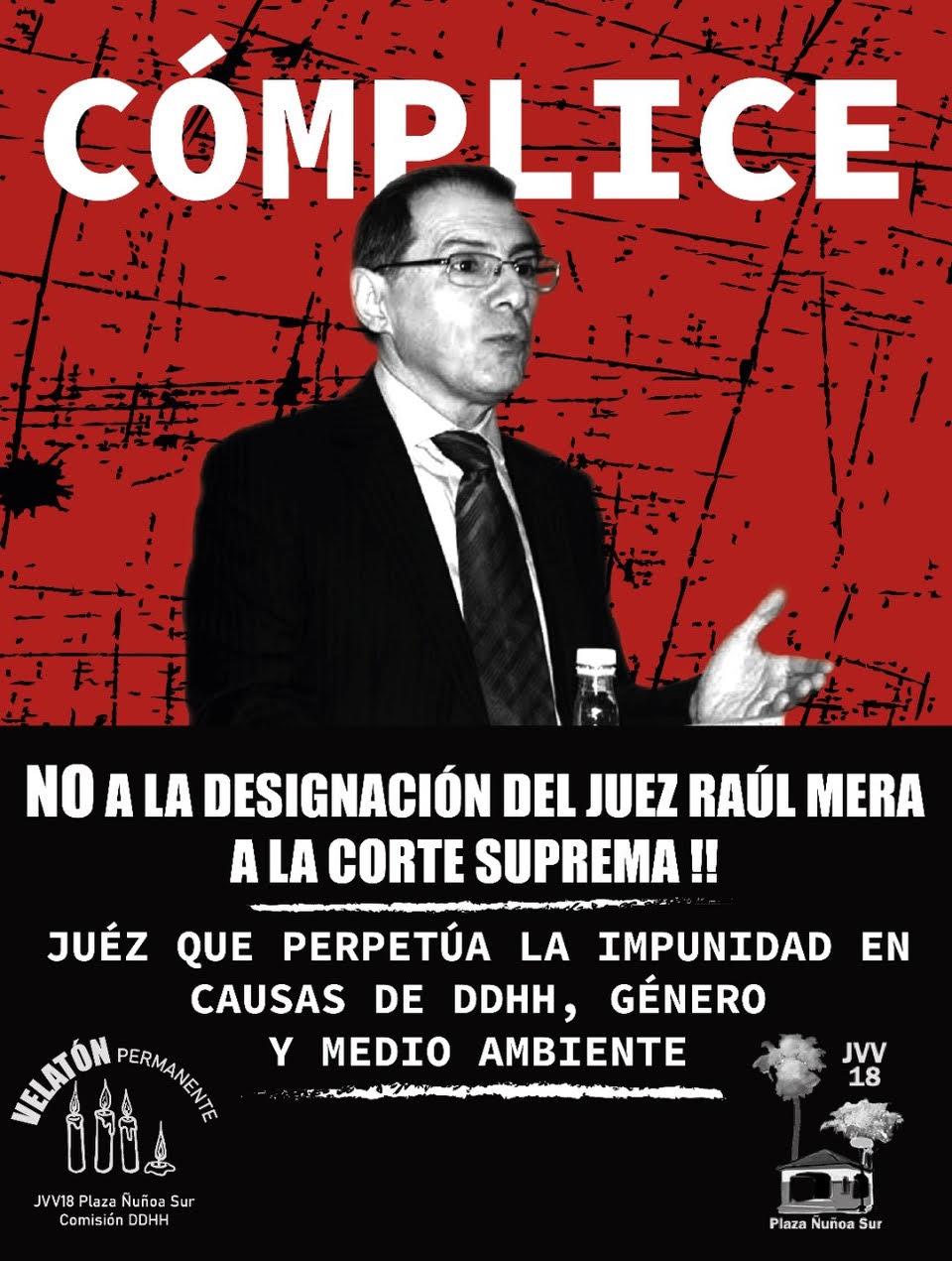 El necesario cuestionamiento público al juez Raúl Mera