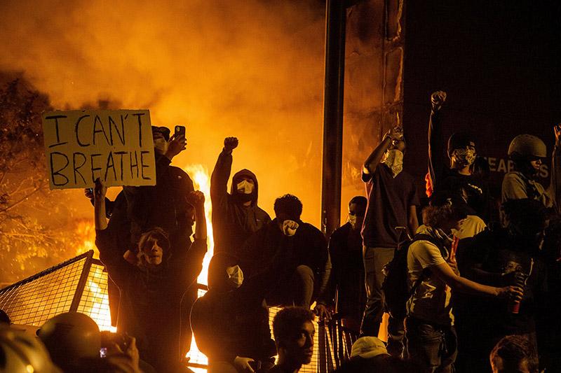 Ser agua, iniciar incendios: mensaje de la rebelión en Minneapolis