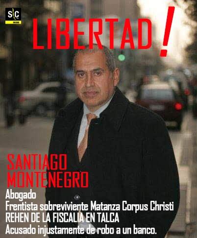 Santiago Montenegro debe ser puesto en libertad