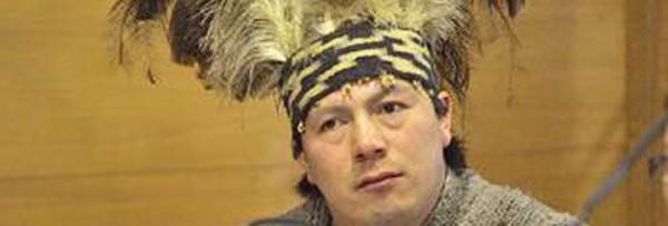 Machi Celestino Córdoba se despide del Pueblo Mapuche y No Mapuche antes de iniciar la Huelga de Hambre Seca