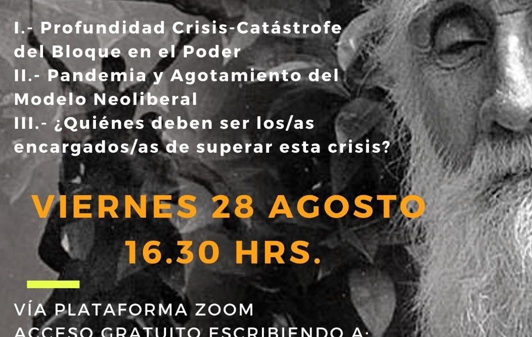 Conversatorio Clotario Blest. Viernes 28, 16:30 horas