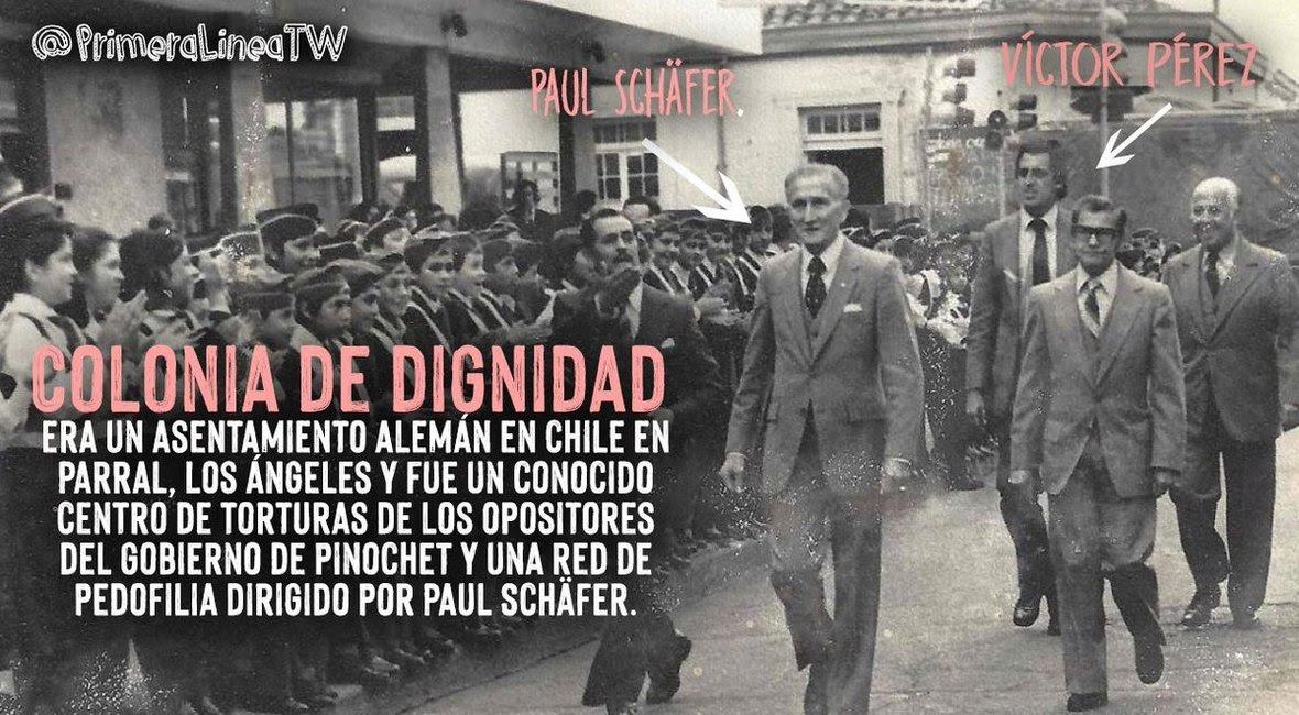 Víctor Pérez, Hernán Larraín, la UDI, el Gobierno de Piñera, la derecha chilena y Colonia Dignidad
