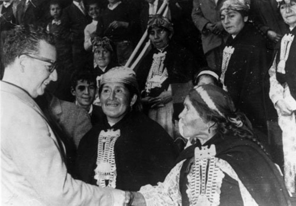 Palabras del Presidente Salvador Allende en la firma de la promulgación de la Ley Indígena