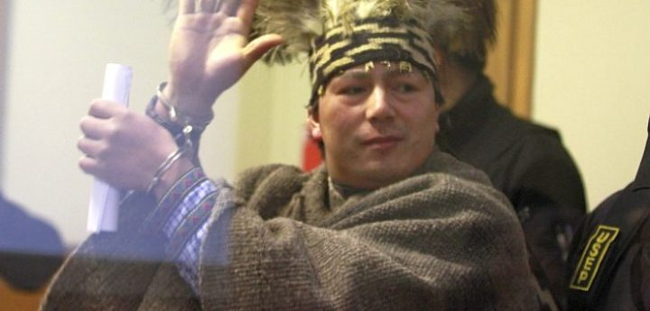 Machi Celestino Córdova inicia huelga seca en Chile