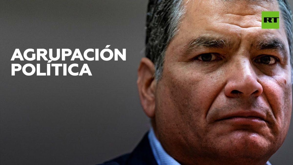 Designan a Correa como candidato a vicepresidente de Ecuador