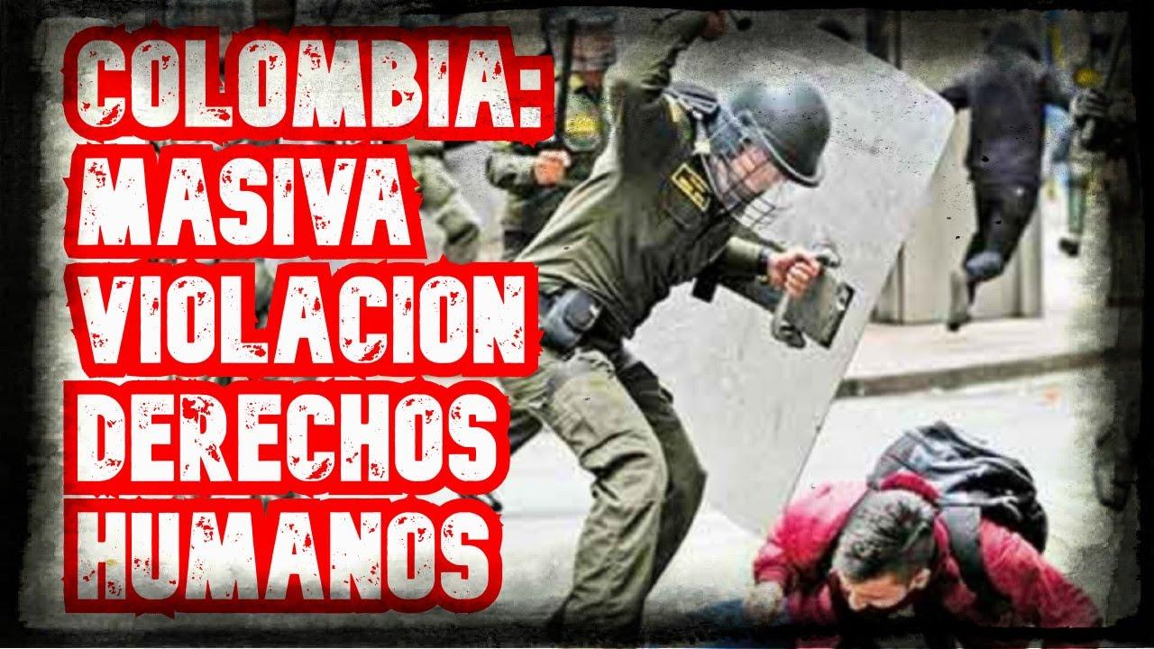 Complicidad Mundial ante la MASIVA violación de Derechos Humanos en Colombia