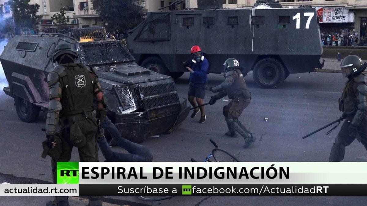 El pueblo ayuda al pueblo. Ayudemos a Oscar Pérez, aplastado por dos zorillos de Carabineros
