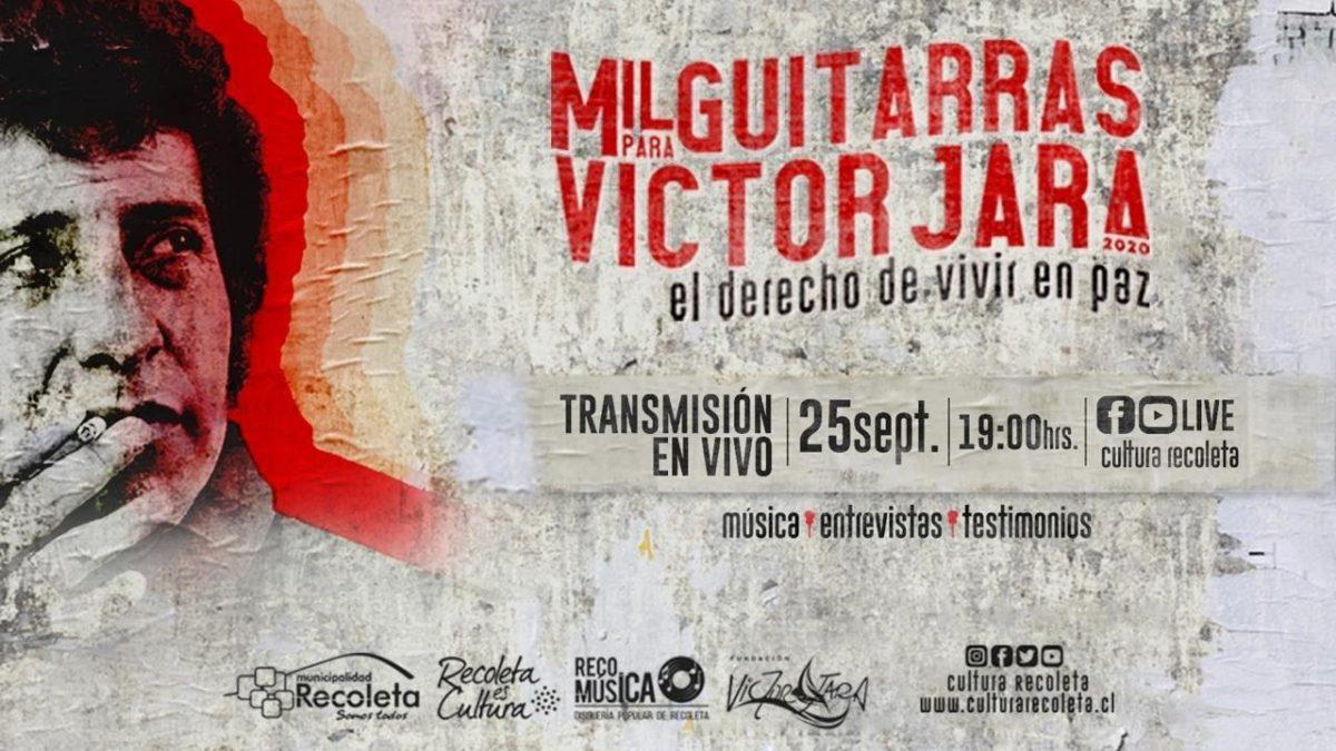 «Mil Guitarras por Victor Jara»