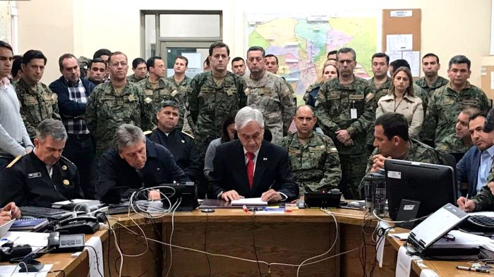 «Plan Zeta» de Piñera: Según la Dirección de Inteligencia del Ejército 600 agentes cubanos y venezolanos habían entrado clandestinamente al país