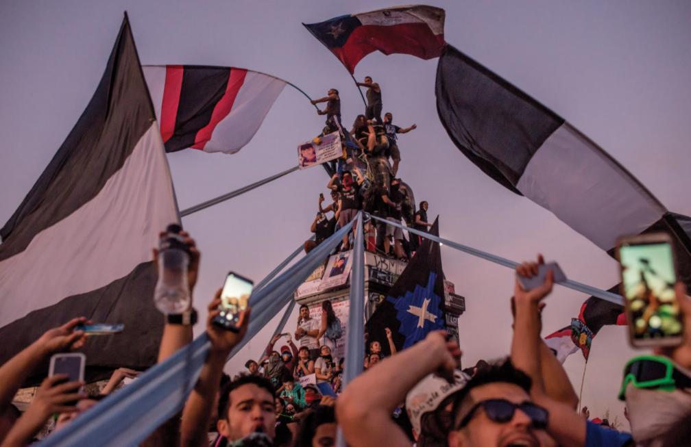 Chile en las barricadas: ¿Puede una revolución política excepcional sobrevivir a la pandemia?