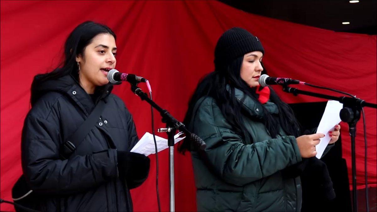 Más sobre cómo se conmemoró en Estocolmo el inicio de la revuelta en Chile