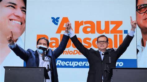 Ricardo Patiño: Debemos cuidar la democracia en el Ecuador