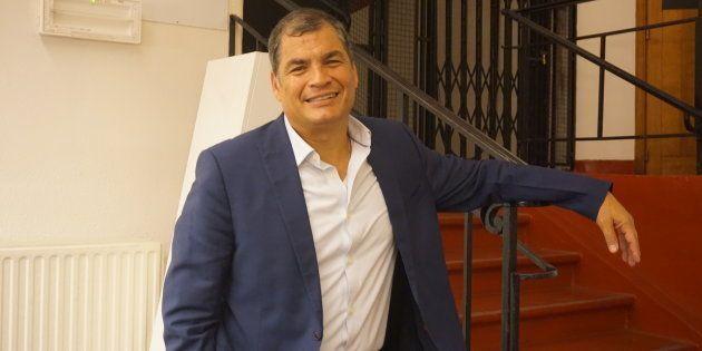 Ecuador: entrevistas a Rafael Correa, antes y después de las elecciones