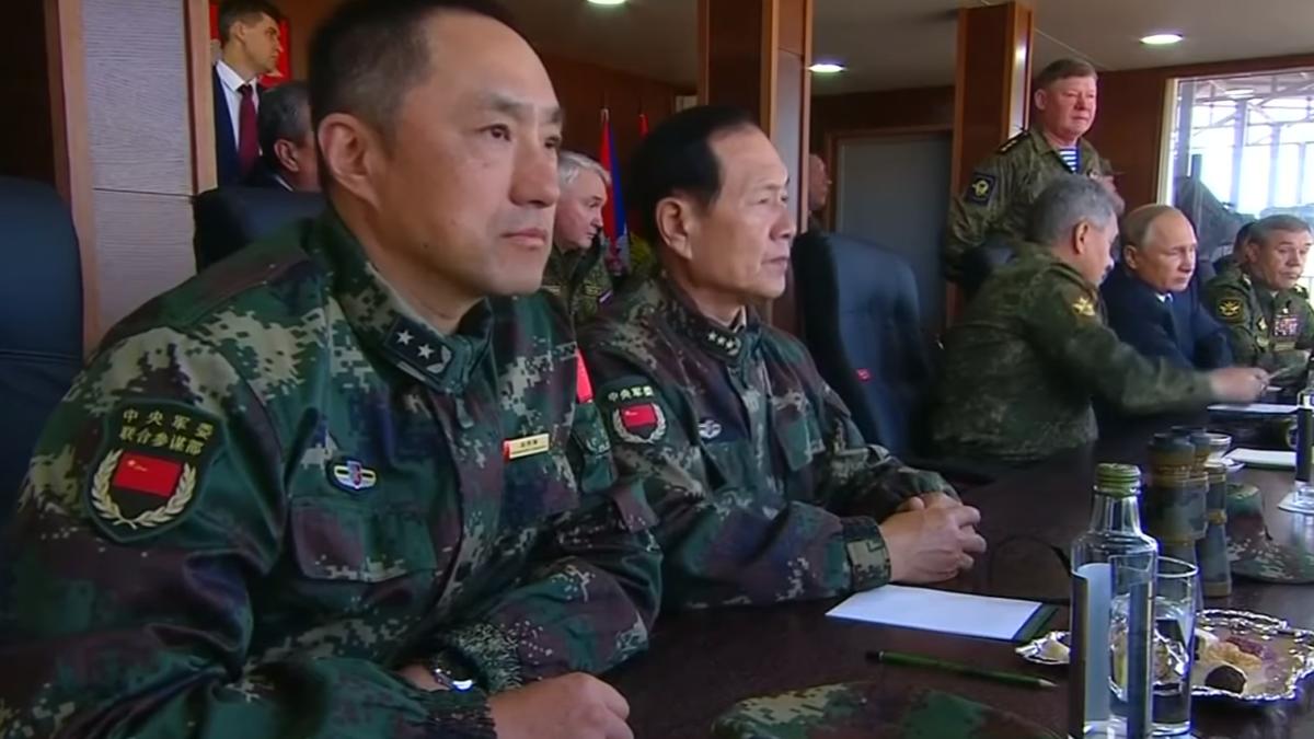 China ofrece a Rusia una alianza militar oficial