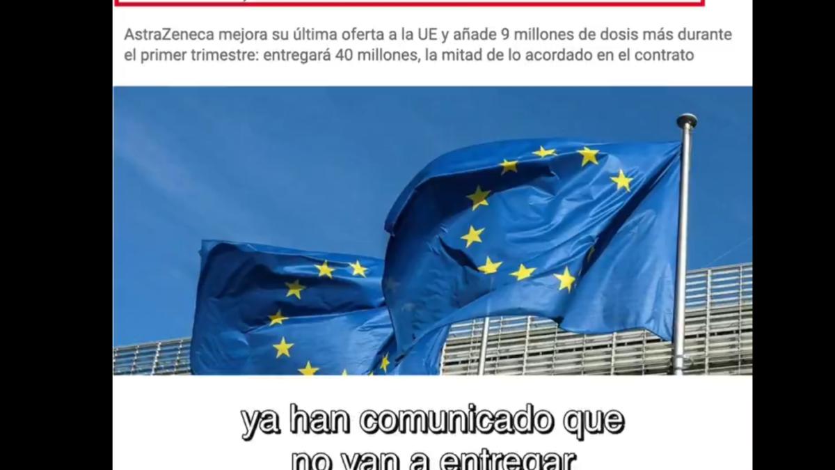 #TachónGate, el escándalo con las vacunas que la UE trata de ocultar