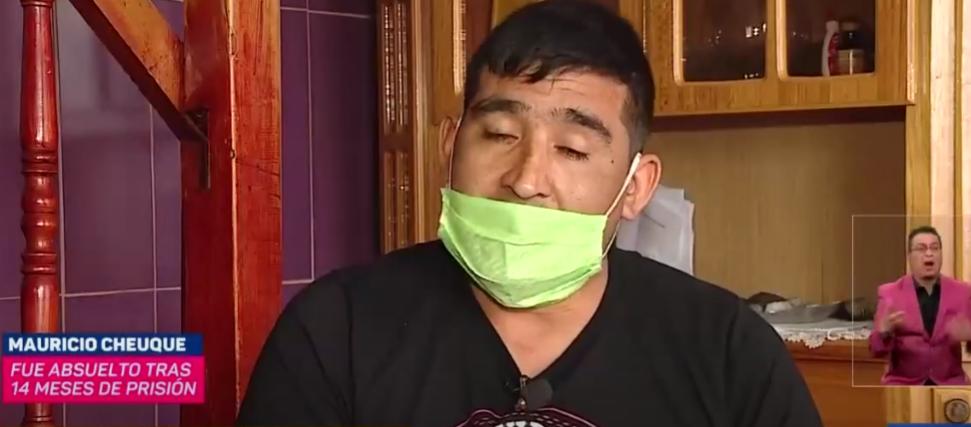 Obrero detenido durante el estallido social fue absuelto tras 14 meses en prisión