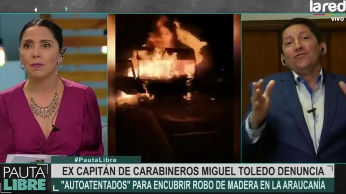 Ex-Capitán Toledo denuncia corrupción y montajes de Carabineros en la Araucanía