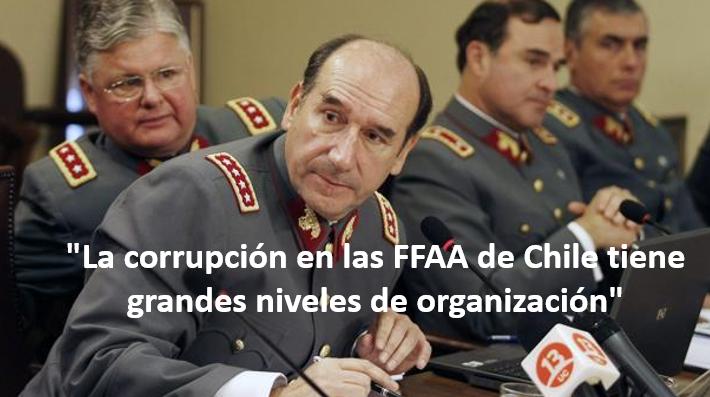 Capitán Rafael Harvey habla sobre la corrupción en el ejército de Chile