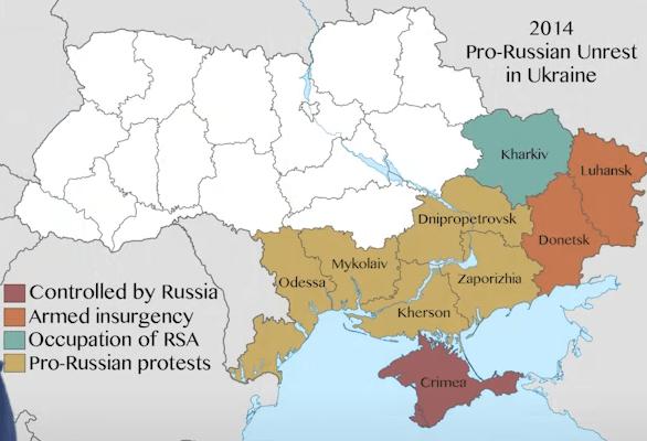 ¿Cómo surgió el «problema» entre Rusia y Ucrania?