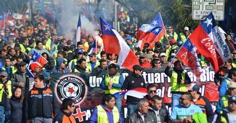 Declaración de la Unión Portuaria de Chile: Paralización Progresiva de actividades a partir de hoy miércoles 21 de abril