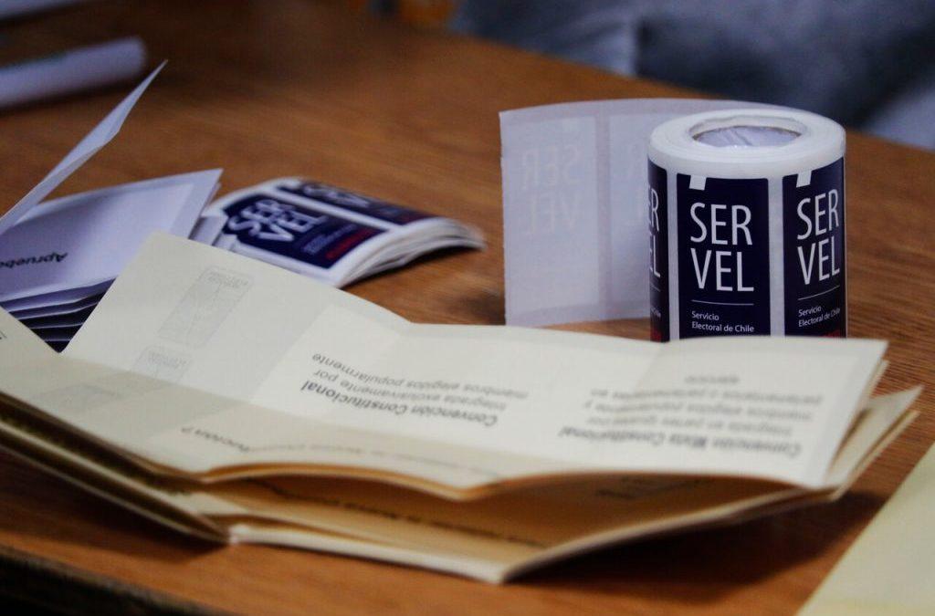 Listado de los constituyentes que redactarán una nueva Constitución para Chile
