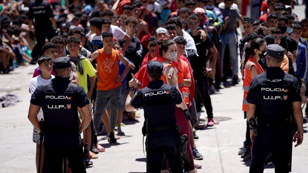 «Marruecos sacó niños del colegio para enviarlos a Ceuta sin saberlo los padres»